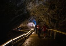 Free View Of The Peak Cavern, Also Known As The Devil`s Arse, In Castleton, Derbyshire, England Royalty Free Stock Images - 202837589