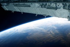 Free View Of The Planet Earth From A Space Station.  Elements Of This Image Were Furnished By NASA Royalty Free Stock Photos - 156206668