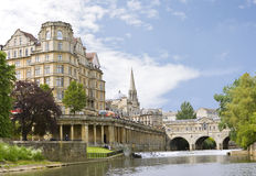 View Of The Pulteney Bridge Bath, England Royalty Free Stock Image