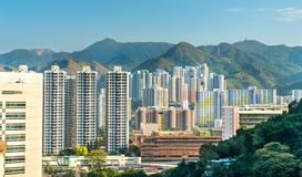 Free View Of The Sha Tin District In Hong Kong, China Stock Images - 108961494