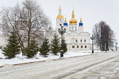 View Of The Sofia-Uspensky Cathedral In Tobolsk Stock Images