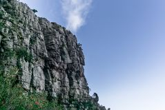 Free View Of The Steep Rocky Walls Of Table Mountain In Cape Town - 1 Royalty Free Stock Photos - 110326988