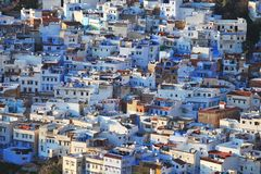 View Of The Town Chefchaouen Royalty Free Stock Image