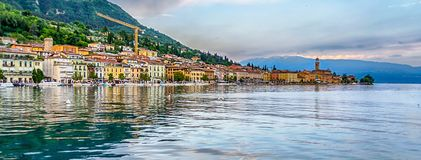 Free View Of The Town Of Salo, Lake Garda, Italy Royalty Free Stock Images - 123410039
