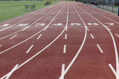 Free View Of The Track With Numbers Stock Photos - 80235613