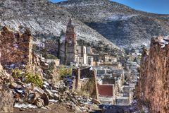 Free View Of The Village Of Real De Catorce, Mexico Stock Image - 119703171