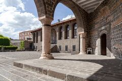 Free View Of The Virgin Mary Syriac Orthodox Church In Diyarbakir, Turkey. Stock Photography - 184224372