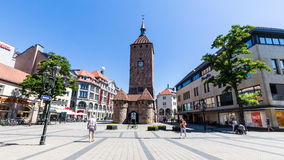 Free View Of The White Tower (Weisser Turm) In The Old Town Part Of N Stock Photography - 84609292