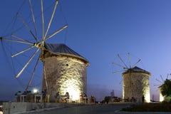 Free View Of Windmill In Alacati Town,Izmir,Turkey Royalty Free Stock Image - 128308356