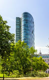 View of an office tower in Dusseldorf Stock Image