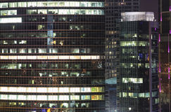View of the offices of a skyscrape Royalty Free Stock Photo