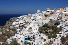 View of oia Stock Photography