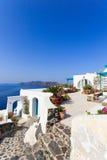 View on Oia in Santorini Stock Photo