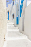 View on Oia in Santorini Stock Photos