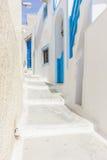 View on Oia in Santorini Stock Photos