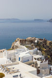 View on Oia in Santorini Royalty Free Stock Images