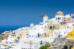 View From Oia, Santorini, Greece Stock Photography