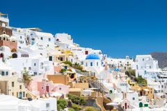 View From Oia, Santorini, Greece Stock Images