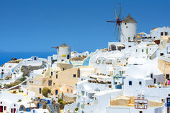 View From Oia, Santorini, Greece Royalty Free Stock Photo