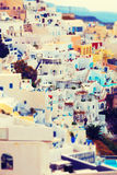 View of Oia, Santorini Royalty Free Stock Images