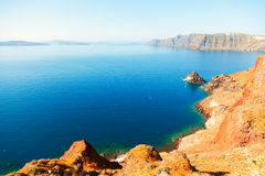 View from Oia, Santorini Royalty Free Stock Photo