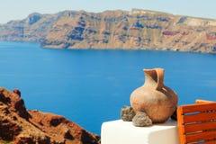 View from Oia, Santorini Stock Photo