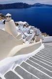 View of Oia, Santorini Royalty Free Stock Photos