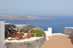 View of Oia town Royalty Free Stock Image