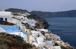 View of Oia Village Royalty Free Stock Image