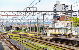 View of Oji Station in Nara Royalty Free Stock Photo