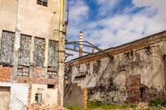 Old paper mill in Kalety - Silesia province, Polan Royalty Free Stock Photo
