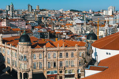 View of the old area of Porto, Portugal. Travel. Royalty Free Stock Image
