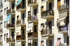 View of old biding in  Livorno Royalty Free Stock Photography