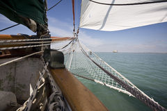 View from old boat Stock Photography
