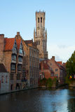 View of old Bruges Royalty Free Stock Photography