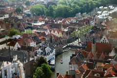 The view of old Brugge Royalty Free Stock Photo
