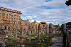 View of old building in Rome Stock Image