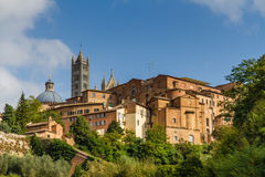 View of Old Buildings in Siena-Siena,Tuscany,Italy Stock Images