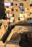 View of old Cairo form Mosque minaret Stock Images