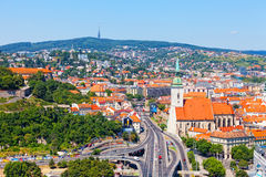View of old castle in Bratislava, Slovakia, royalty free stock photos