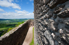 VIew from old castle Royalty Free Stock Photo
