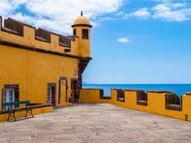 Old castle Fortaleza de Sao Tiago royalty free stock photo