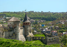 View of the Old Castle Royalty Free Stock Photos