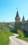 View of the Old Castle Royalty Free Stock Photo
