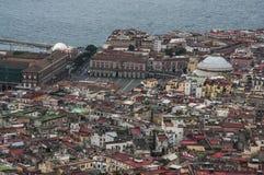 Naples downtown Stock Photo