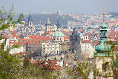 View on the old center of Prague Stock Photo