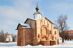 View of old church in Veliky Novgorod, Russia Royalty Free Stock Photography