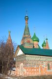 View of old church in Yaroslavl Stock Photography