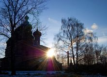 View of old church in Yaroslavl Royalty Free Stock Image