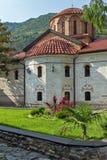 Old churches in Medieval Bachkovo Monastery, Bulgaria. View of Old churches in Medieval Bachkovo Monastery, Plovdiv region, Bulgaria stock image